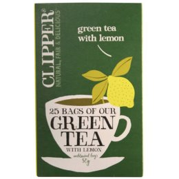 Clipper Green Tea With Lemon - 25 Bags
