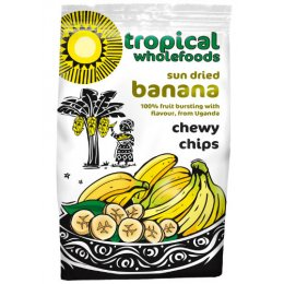 Tropical Wholefoods - Chewy Banana Chips - 150g