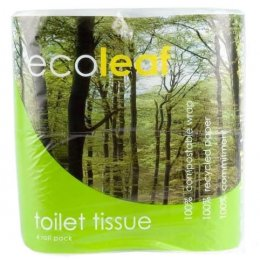 Ecoleaf Toilet Tissue - Pack of 4
