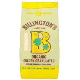 Billingtons Organic Granulated Sugar - 500g