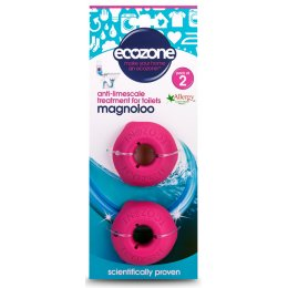 Ecozone Magnoloo Toilet Descaler - Pack of 2