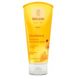 Weleda Baby Shampoo & Body Wash - Calendula - 200ml