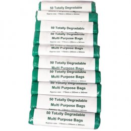 d2w Multi Purpose Degradable Bags - Pack of 50