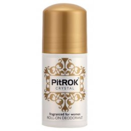 PitRok Crystal Roll On Deodorant - 50ml