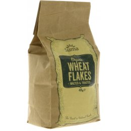 Suma Prepacks Organic Toasted Malted Wheat Flakes - 400g