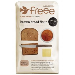 Doves Farm Gluten Free Brown Bread Flour - 1kg