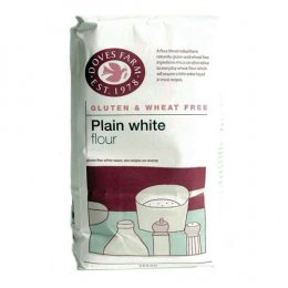 Doves Farm Plain White Flour - Gluten Free - 1kg