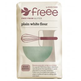 Doves Farm Gluten Free Plain White Flour - 1Kg