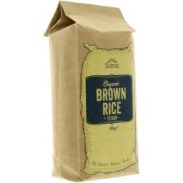 Suma Prepacks Organic Brown Rice Flour - 500g