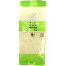 Suma Prepacks Organic Ground Almonds - 250g