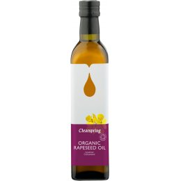 Clearspring Rapeseed Oil  - 500ml