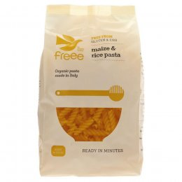 Doves Farm Wheat Free Organic Maize and Rice Fusilli Pasta - 500g