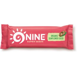 9Nine Sunflower Seed Snack Bar - 40g