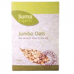 Suma Jumbo Organic Oats - 1kg