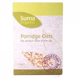 Suma Organic Porridge Oats - 1kg