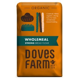 Doves Farm Organic Strong Wholemeal Bread Flour - 1.5kg