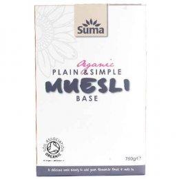 Suma Plain & Simple Organic Muesli Base - 750g
