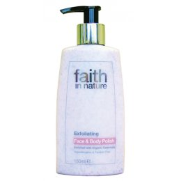 Faith in Nature Exfoliating Face & Body Polish - 150ml