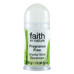 Faith in Nature Crystal Deodorant Stick - Natural  - 100g