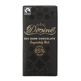 Divine 85  percent   Dark Chocolate - 100g