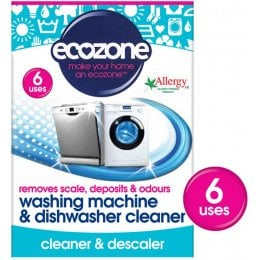 Ecozone Washing Machine & Dishwasher Cleaner - Pack of 6