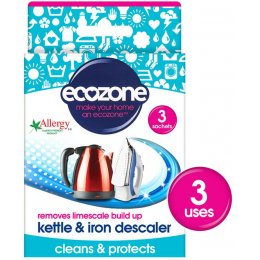 Ecozone Kettle & Iron Descaler - 3 Applications