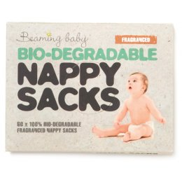 Beaming Baby Biodegradable Nappy Sacks - Fragranced - Pack of 60