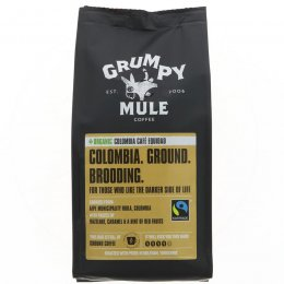 Grumpy Mule Organic Colombia Cafe Equidad Ground Coffee - 227g
