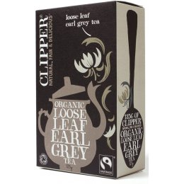 Clipper Organic Earl Grey Loose Leaf Tea - 125g
