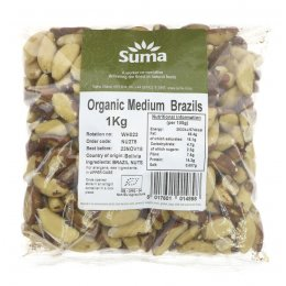 Suma Organic Whole Brazil Nuts 1kg