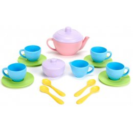 Green Toys Recycled Tea Set