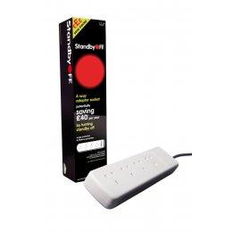 Eaga Energy Saving Power Standby Strip - 4 Sockets test