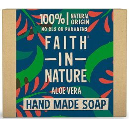 Faith in Nature Soap - Aloe Vera and Ylang Ylang - 100g
