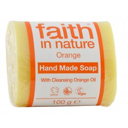 Faith in Nature Soap - Orange  - 100g