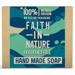 Faith in Nature Soap - Fragrance Free - 100g
