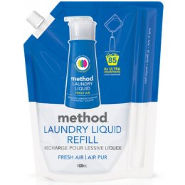 Method Laundry Liquid Refill - Fresh Air - 1020ml