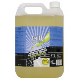 Faith In Nature Anti-Bacterial Bathroom Cleaner - 5 litre