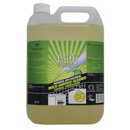 Faith In Nature Anti-Bacterial Multi-Surface Cleaner - 5 litre