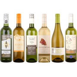 Crisp White Organic Wines - Case of 6
