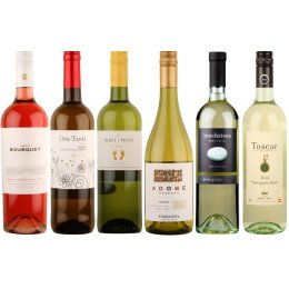 Fruity Organic White Wines - Case of 6