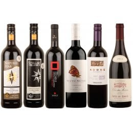 Organic Rich Red Wines - Case of 6