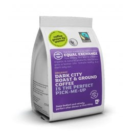 Equal Exchange Organic Dark Roast & Ground Coffee - 227g
