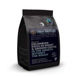 Equal Exchange Organic Colombian Roast & Ground Coffee- 227g