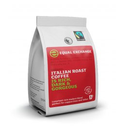 Equal Exchange Italian Roast & Ground Coffee - 227g