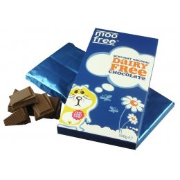 Moo Free Dairy Free Organic Milk Chocolate Bar - 100g