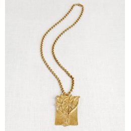 La Jewellery Recycled Brass Tatiana Necklace