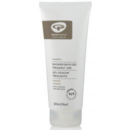Green People Neutral Shower/Bath Gel - Scent Free  - 200ml
