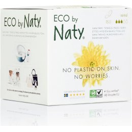 Eco by Naty Sanitary Towels - Normal - Pack of 15