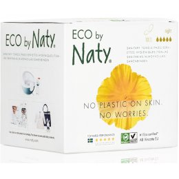 Eco by Naty Sanitary Towels - Night - Pack of 10