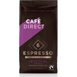 Cafedirect Espresso Ground Coffee - 227g